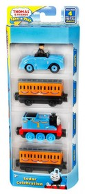 Sodor Celebration THOMAS+ANNIE+CLARABEL+SIR TOPHAM (Take N Play) (ultimi pezzi)