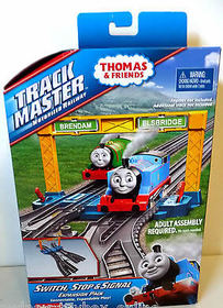 TRACKMASTER SWITCH STOP & SIGNAL EXPANSION PACK