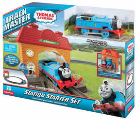 TRACKMASTER SET LA STAZIONE DI WELLSWORTH + THOMAS