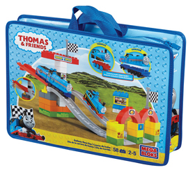 MEGA BLOKS THOMAS RAILWAY RACE DAY