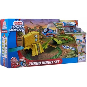 TRACKMASTER SET TURBO JUMP JUNGLE