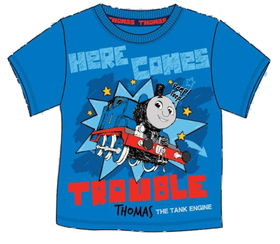 THOMAS T-SHIRT HERE COME TROUBLE 3 4