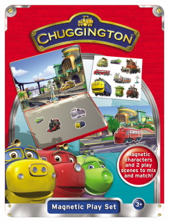 CHUGGINGTON MAGNETIC PLAY SET