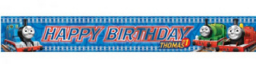 HAPPY BIRTHDAY BANNER m 4,5 THOMAS
